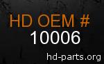 hd 10006 genuine part number