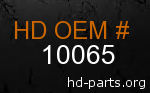 hd 10065 genuine part number