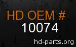 hd 10074 genuine part number