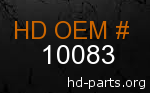 hd 10083 genuine part number