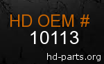 hd 10113 genuine part number
