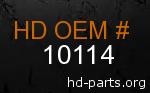 hd 10114 genuine part number