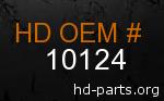 hd 10124 genuine part number