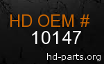 hd 10147 genuine part number