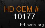 hd 10177 genuine part number