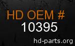 hd 10395 genuine part number