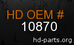 hd 10870 genuine part number