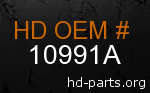hd 10991A genuine part number