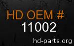 hd 11002 genuine part number
