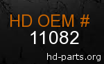 hd 11082 genuine part number
