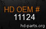 hd 11124 genuine part number