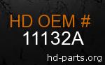 hd 11132A genuine part number