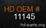 hd 11145 genuine part number