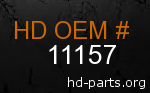 hd 11157 genuine part number