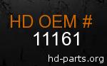 hd 11161 genuine part number