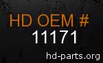 hd 11171 genuine part number