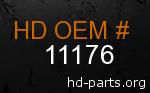 hd 11176 genuine part number