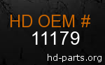hd 11179 genuine part number