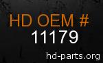 hd 11179 genuine part number