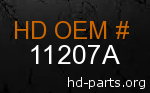 hd 11207A genuine part number