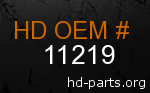 hd 11219 genuine part number