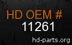 hd 11261 genuine part number