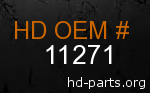 hd 11271 genuine part number