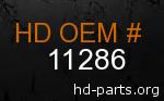 hd 11286 genuine part number