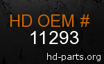 hd 11293 genuine part number