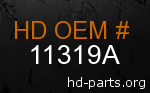 hd 11319A genuine part number