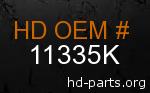 hd 11335K genuine part number