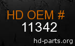 hd 11342 genuine part number