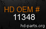 hd 11348 genuine part number
