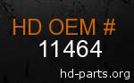 hd 11464 genuine part number