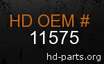 hd 11575 genuine part number