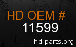 hd 11599 genuine part number