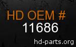 hd 11686 genuine part number