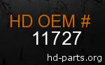 hd 11727 genuine part number