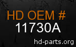 hd 11730A genuine part number