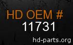 hd 11731 genuine part number
