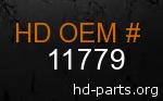 hd 11779 genuine part number