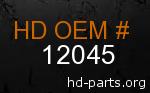 hd 12045 genuine part number