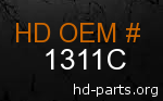 hd 1311C genuine part number