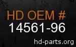 hd 14561-96 genuine part number