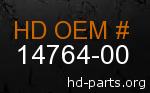 hd 14764-00 genuine part number