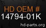 hd 14794-01K genuine part number