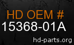 hd 15368-01A genuine part number