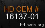hd 16137-01 genuine part number