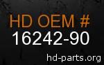 hd 16242-90 genuine part number