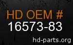 hd 16573-83 genuine part number